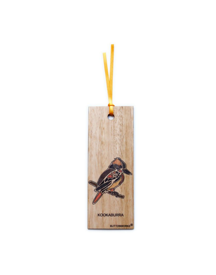 Bookmark Colour Kookaburra
