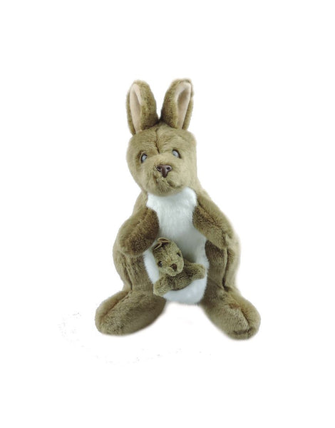 Kangaroo and Joey 19in SoftToy