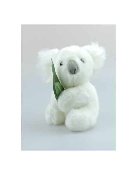 Koala 7in White Gumleaves SoftToy