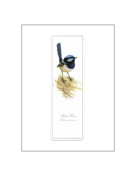 Bookmark Blue Wren
