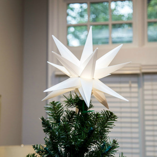 "12"" Folding Moravian Star Light"