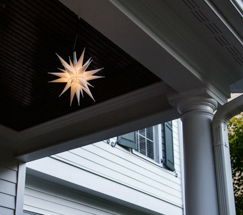 "14"" Moravian Star Tree Topper"