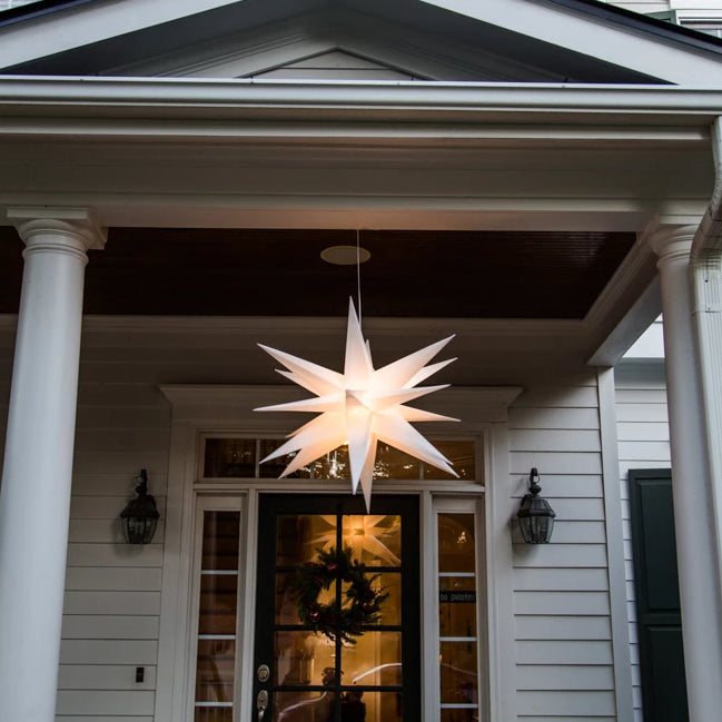 "30"" Folding Moravian Star Light"