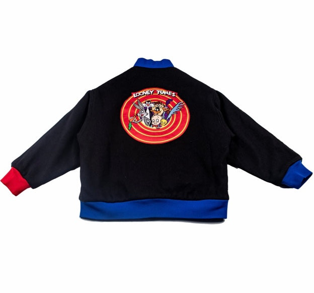 Keniya X Label Looney Toons Varsity Jacket