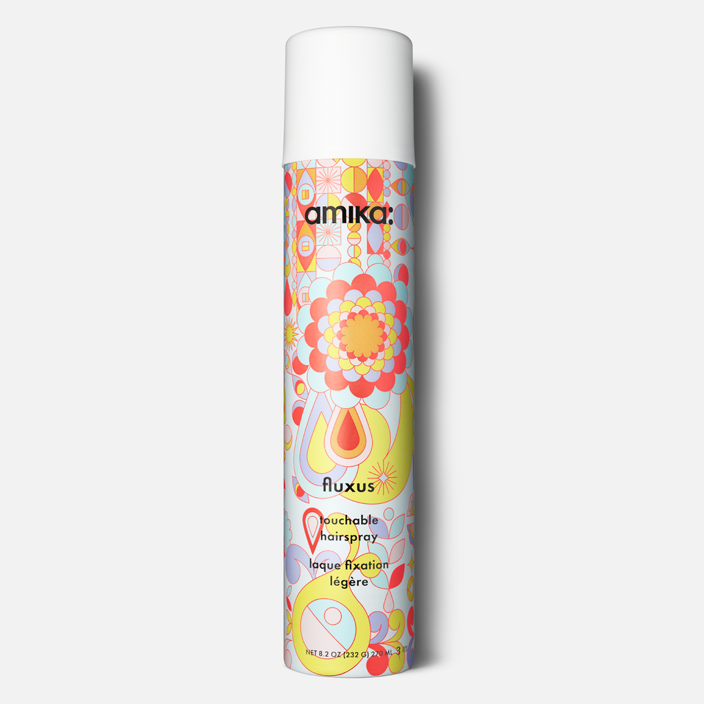 amika: Fluxus Touchable Hairspray - Done Hair Skin and Nails