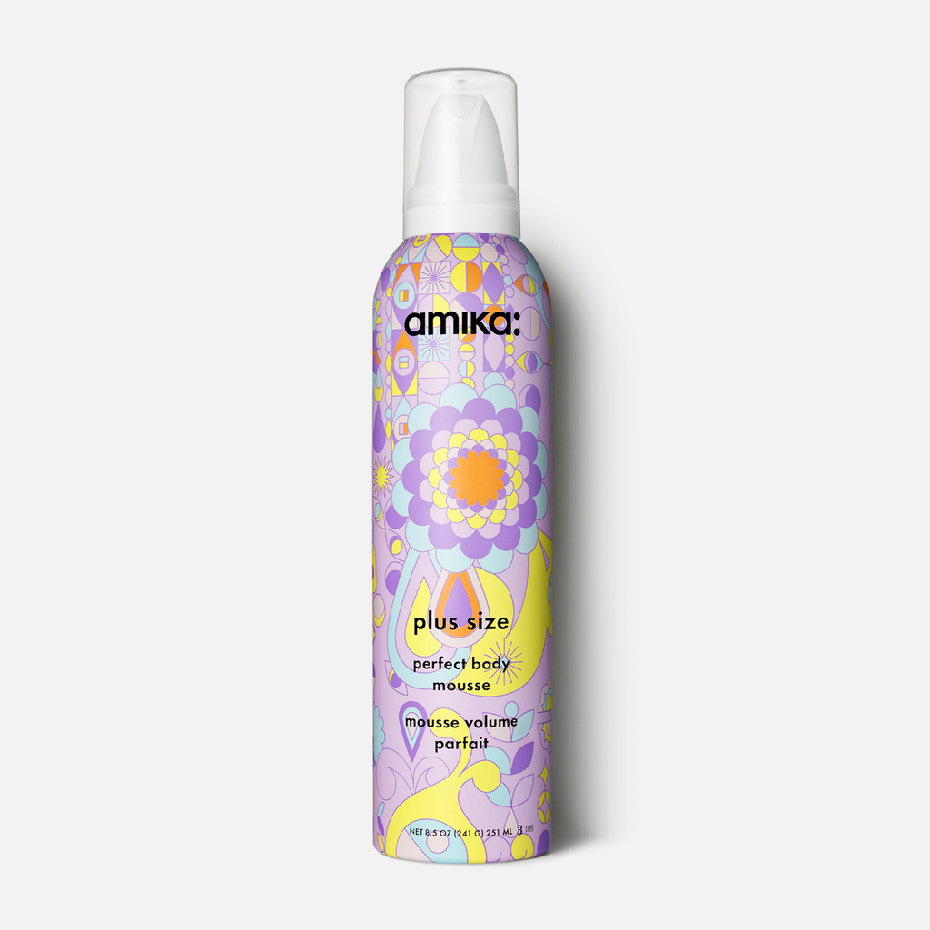 amika: Plus Size Perfect Body Mousse - Done Hair Skin and Nails