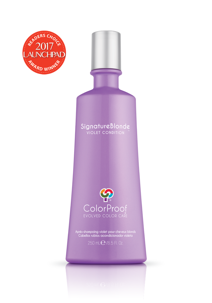 Colorproof - SignatureBlonde® Violet Condition - Done Hair Skin and Nails