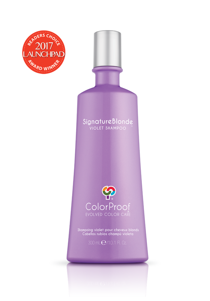 Colorproof - SignatureBlonde® Violet Shampoo - Done Hair Skin and Nails Canada