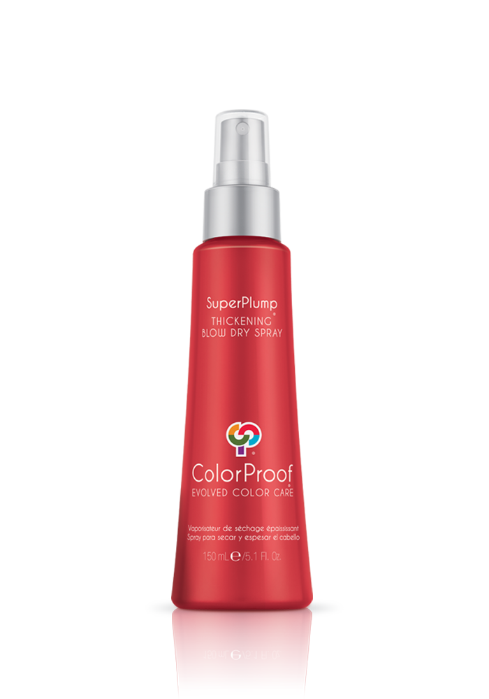 Colorproof - SuperPlump® Thickening Blow Dry Spray - Done Hair Skin and Nails