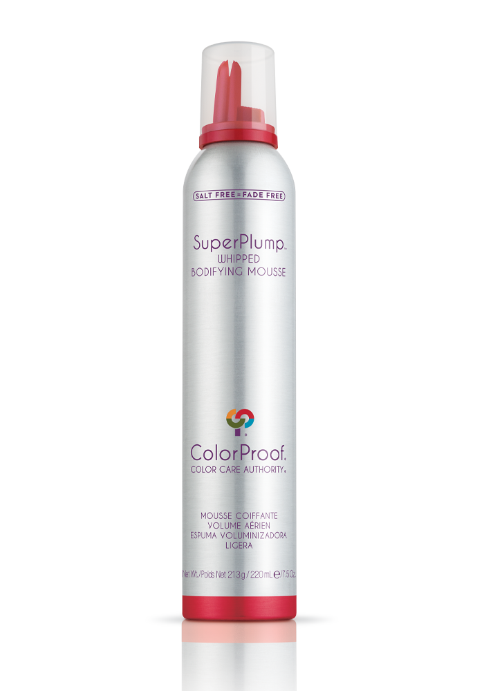 Colorproof - SuperPlump™ Whipped Bodifying Mousse - Done Hair Skin and Nails