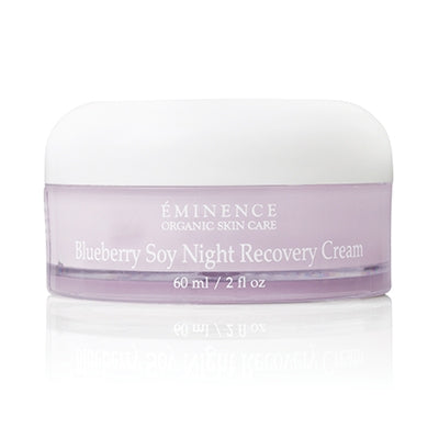 Blueberry Soy Night Recovery Cream - Done Hair Skin and Nails Canada