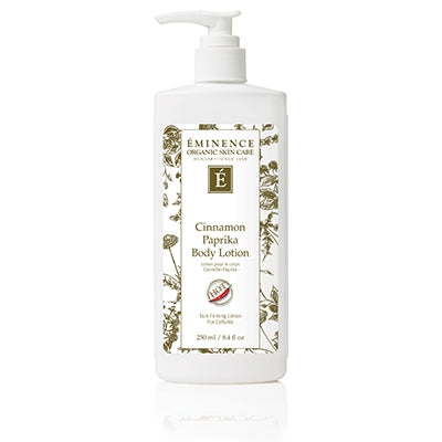 Cinnamon Paprika Body Lotion - Done Hair Skin and Nails Canada