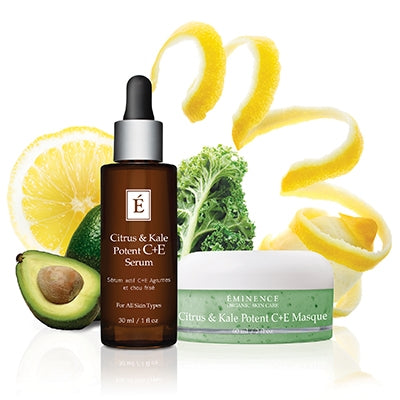 Citrus & Kale C+E Potent Masque - Done Hair Skin and Nails