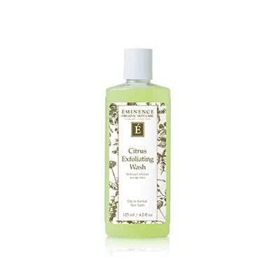 Citrus Exfoliating Wash - Done Hair Skin and Nails Canada
