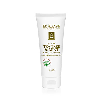 Tea Tree & Mint Hand Cleanser - Done Hair Skin and Nails