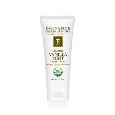 Vanilla Mint Hand Cream - Done Hair Skin and Nails