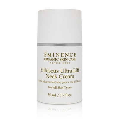 Hisbiscus Ultra Lift Neck Cream - Done Hair Skin and Nails Canada