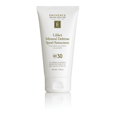 Lilikoi Mineral Defense Sport Sunscreen SPF 30 - Done Hair Skin and Nails Canada