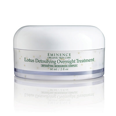 Lotus Detoxifying Overnight Treatment - Done Hair Skin and Nails