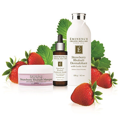 Strawberry Rhubarb Hyaluronic Serum - Done Hair Skin and Nails Canada