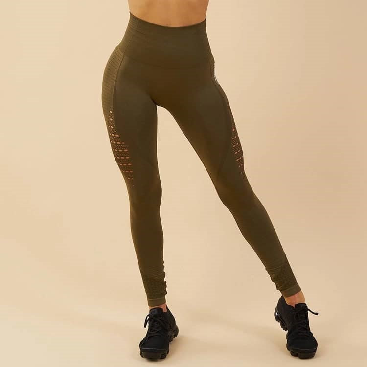 Maku seamless Performance Leggings (Green)