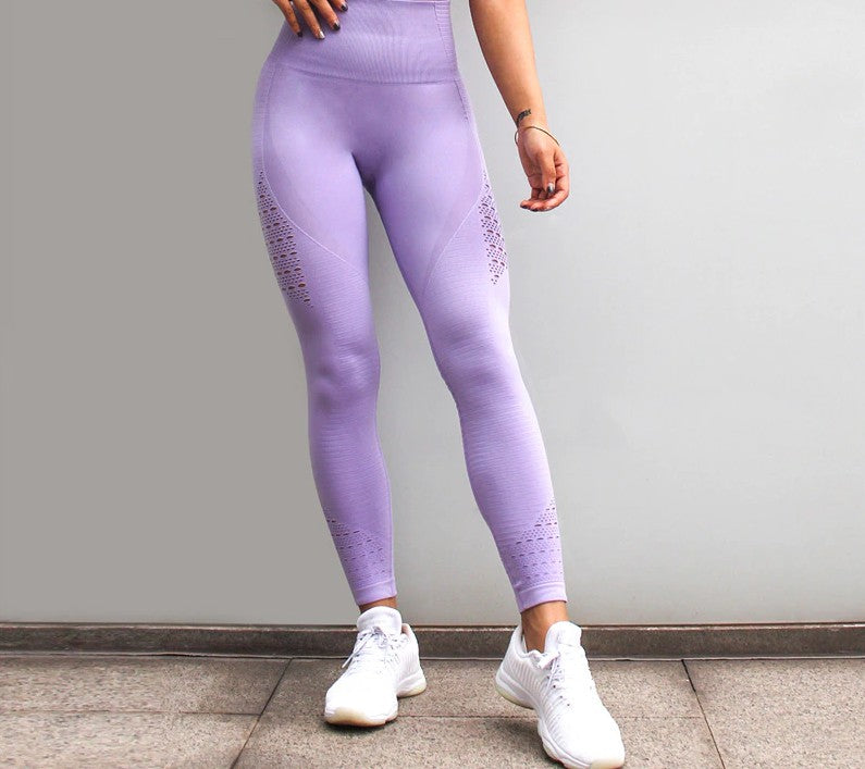 Maku seamless Performance Leggings (Purple)