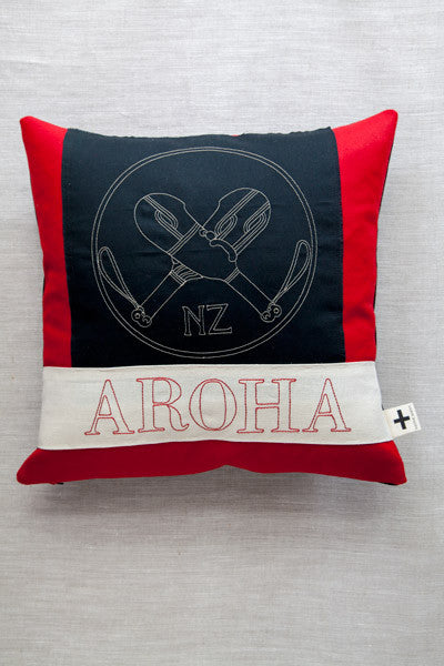 'Aroha Patu' Trade Cushion