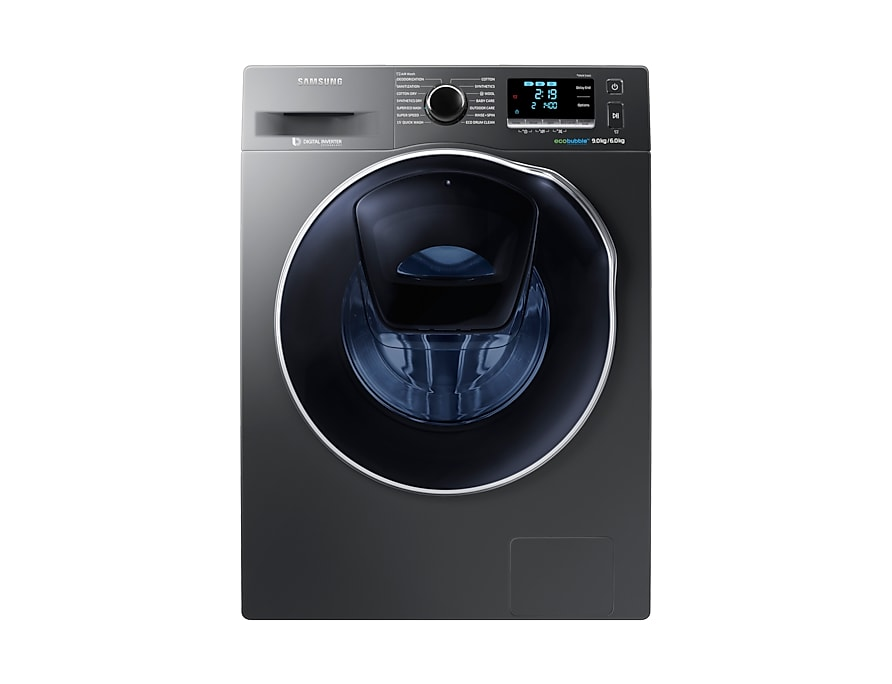 WD90K6410OX Front Loading with AddWash, 9.0Kg, Grey
