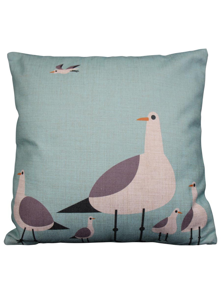 Cushion Standing Seagull