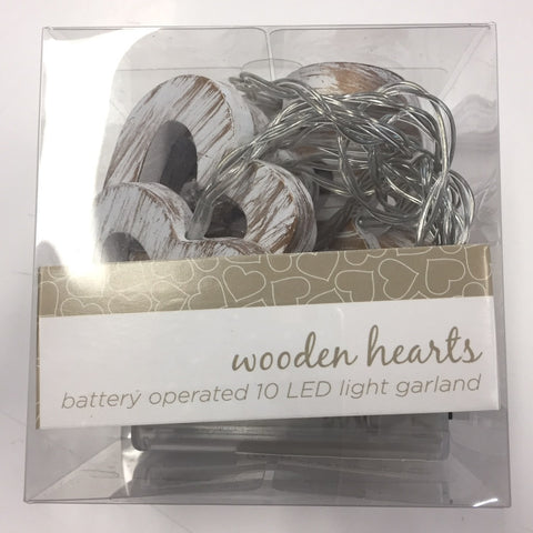 DD Wooden Hearts