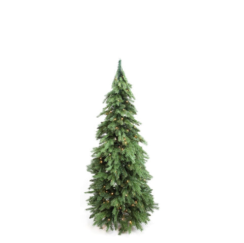 Tree DD Pencil Pine Green 5 Foot