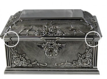 Jewellery Box Rose Ext Lrg