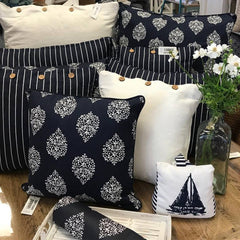 Cushion CS COVER ONLY NW Avalon Navy