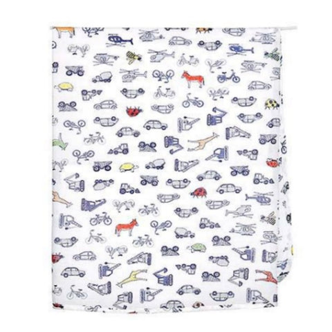 Toshi Wrap Muslin B Hide n Seek