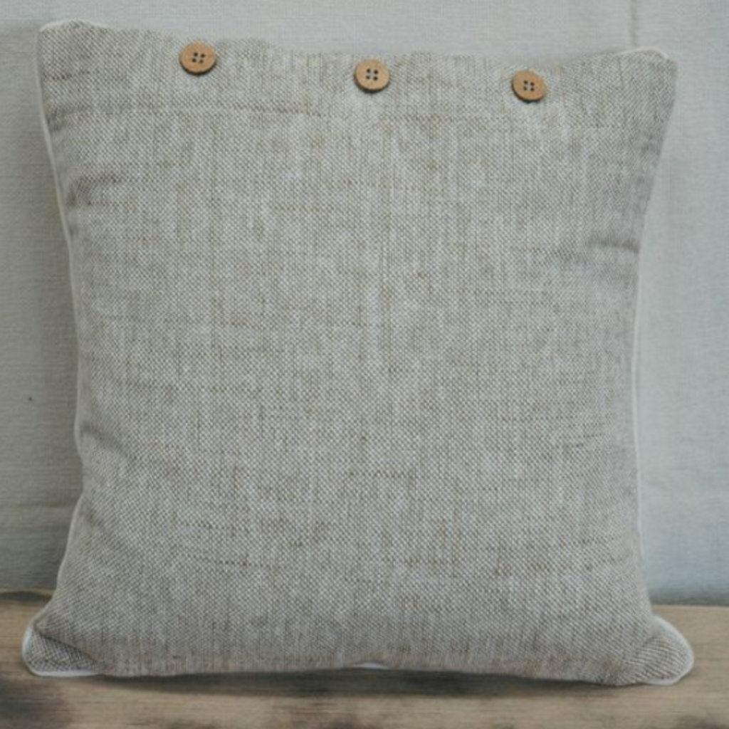 Cushion CS Cover Only Heather Beige