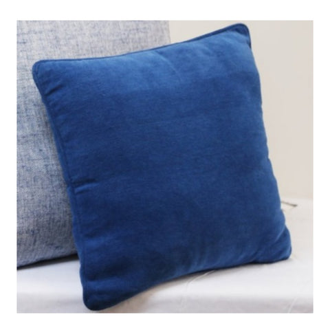 Cushion CS Cover Only NW Chenille Sea Blue