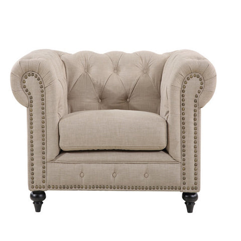 Lounge Chesterfield Arm Chair