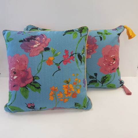 Cushion CS Monet Blue Cover and Insert