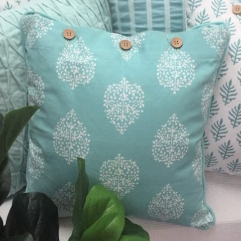 Cushion CS COVER ONLY AQ Avalon Green