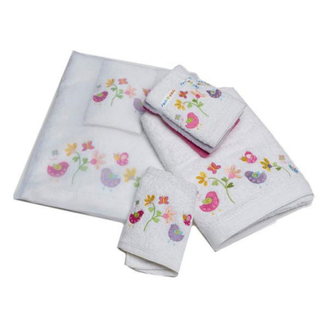Towel Set Baby Birdie & Friends