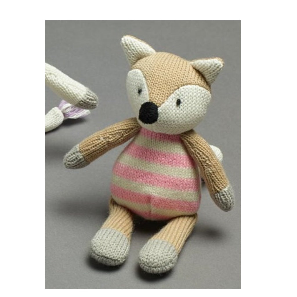Rattle Knitted Fox