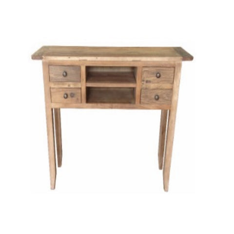 Bambi Recycled Elm Hall Table