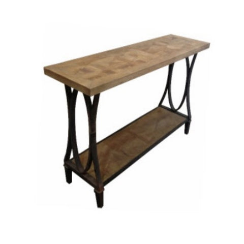 Bourke Parquetry Console
