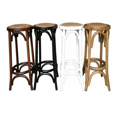 Stool Oak Frame in 4 Colours