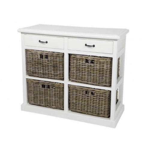 Cabinet 2 Draw 4 Basket