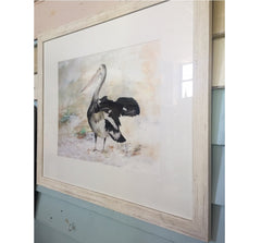 Framed Print CF The Pelican