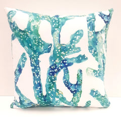 Cushion CD Cover Only AQ Aqua Coral Branch