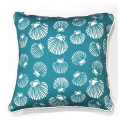 Cushion CS COVER ONLY AQ Shell Sea Green