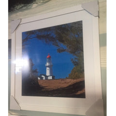 Framed Photography Bustard Head Lighthouse