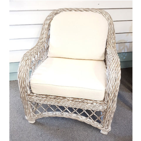 Chair Olympia Grey White Wash
